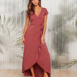 L*Space Currant Goa Maxi Dress
